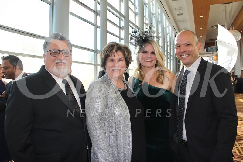 State Sen. Anthony Portantino, Ellen Portantino, Heidi Hamilton and Clay Christensen