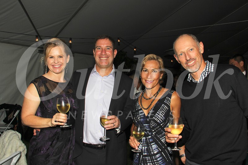 Jennifer and Phil Gordon with Carmela and Max De Brouwer