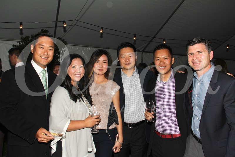 David and Alice Yun, Teresa and Ron Chiu, Jonathan Shing and Bob Blair