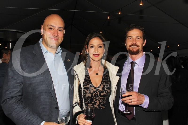 Emil and Linda Eyvazoff with Jeff Parks