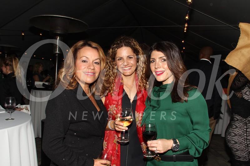 Tamar Tujian, Nellie Yacoubian and Karine Aslanian