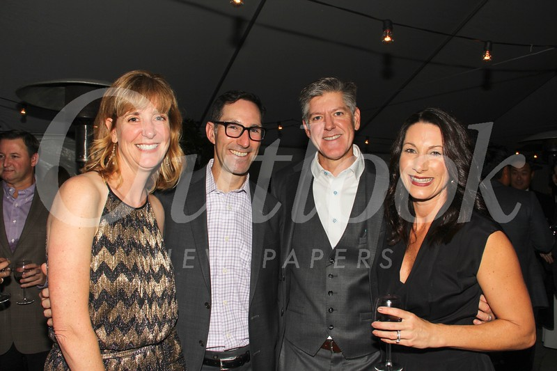 Susan and Greg Harlan, Chris Barton and Valerie Talbert