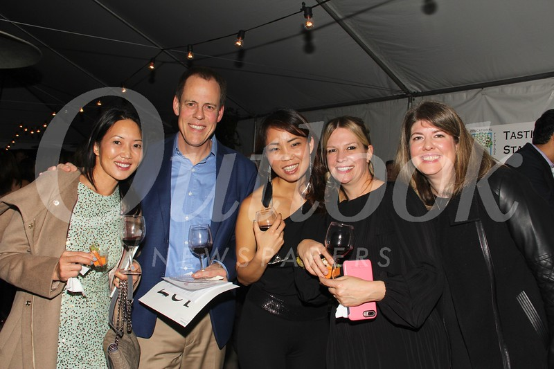 Yvonne and Dan Thorman, Sarah Anh, Christy Cornejo and Lynley Gross