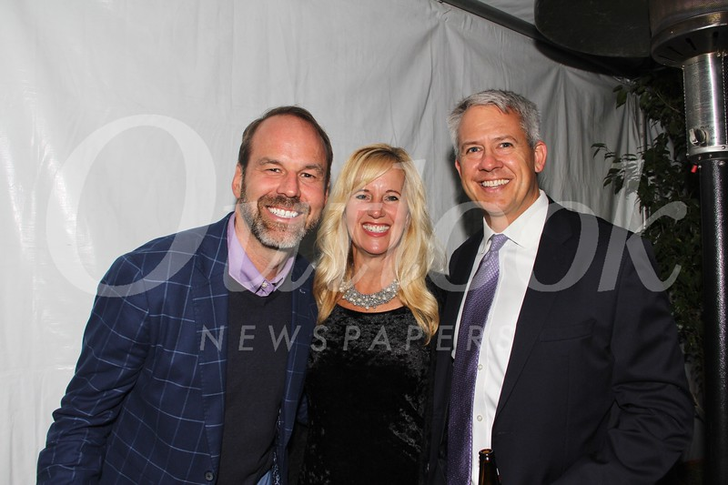 Joe Ferry with Julie and Jeremy Milbrodt