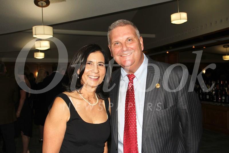 Event chair Nancy Wolhaupter and LCFTRA President Mike Davitt