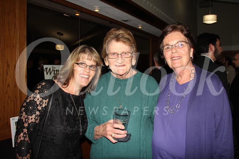 Cindy Crane, Harriett Hughes and Pam Gossoo