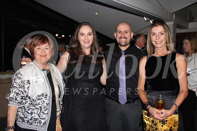 Susan Muhlethaler, Samantha Wickersham, Gabriel Cummings and Lorraine Riewe Cooper