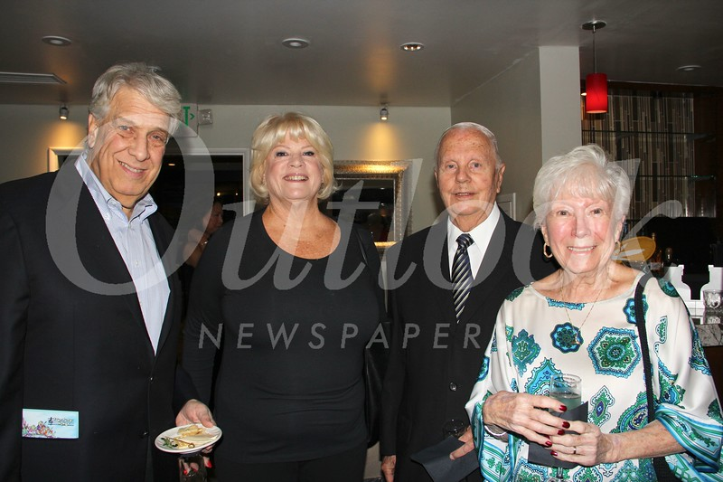 Robert Loitz, Donna Robinson, and John and Diane Landrum