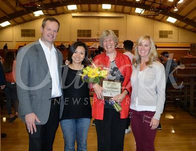 Charlie Plowman, Soo Choi, Alumni Award recipient Patty Compeau and Julie Milbrodt 317