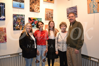 LCHS Art Show at DIGGS Draws in Crowds