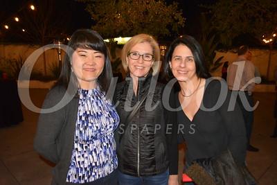 LCHS Assistant Principal Kip Glazer, Nadine Tapp and Diana Bridges 699