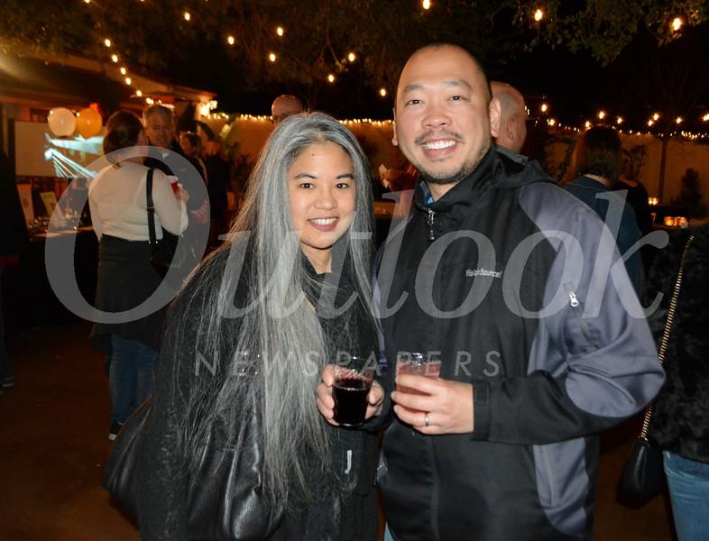 Arleen Fader and Simon Cheng