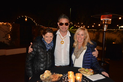 Heather and Jeff Hoffmeyer with Julie Milbrodt