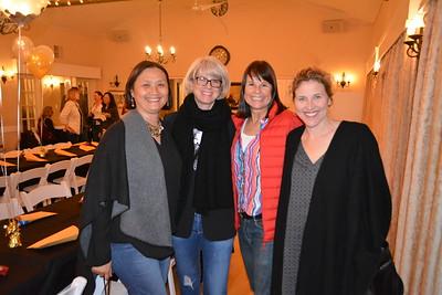 Caroline Anderson, Melissa Mazin, Tracey Helson and Jill Chapman