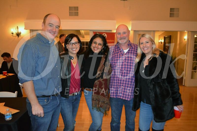 Scott and Anh Luu Hohnbaum, Renu Samudrala, Michael Karlich and Justine Plocher