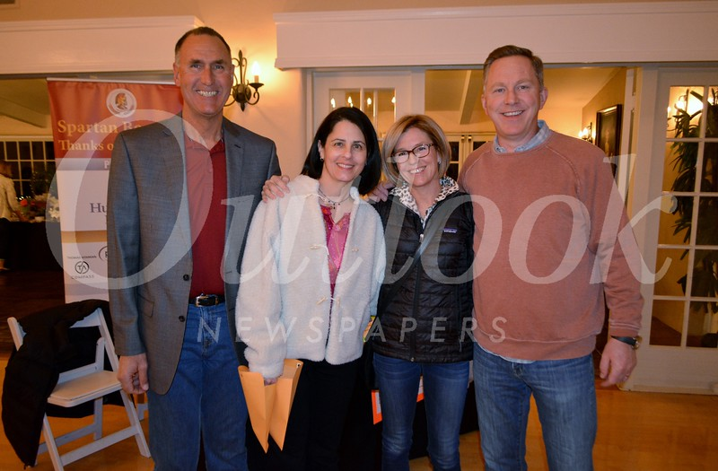 Randy Scoville, Diana Bridges, and Nadine and Stephen Tapp