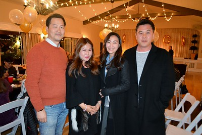 Sean and Grace Oh with Jin and Ji Kim