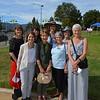 Nancy Washburn, Patrice Gibson, Sandy Ravana, former director Lois Harrison, Claudia Zentmyer, Jan Roberts, Annie Latta Krach and Britta Foshee