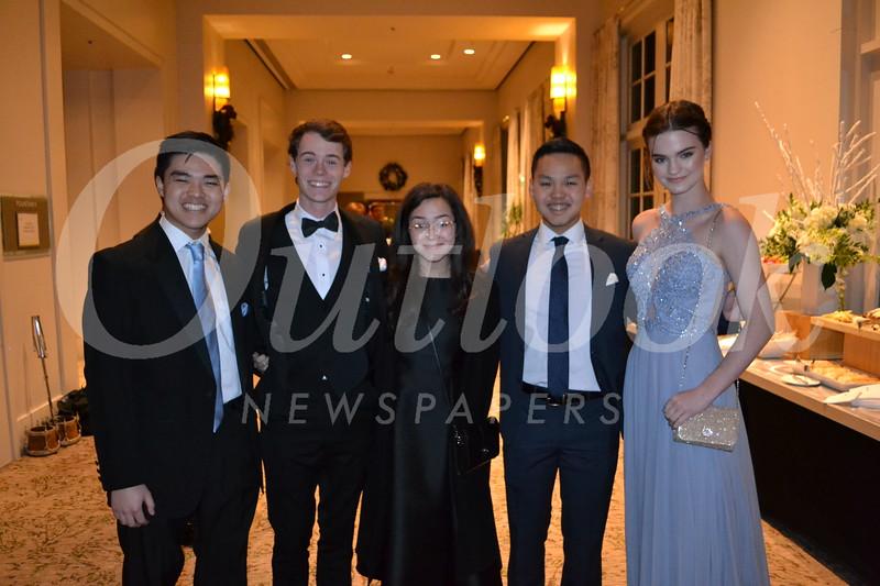Kyle Soo Hoo, Anthony Creehan, Faith Florez, Connor Soo Hoo and Carly Witteman