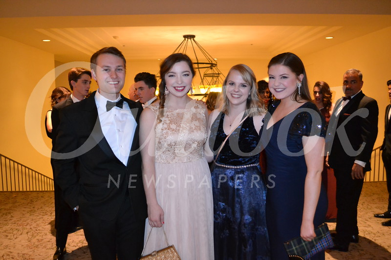 Zach Rotter, Kaylie Girebaugh, Tracey Andrew and Meaghan Susank