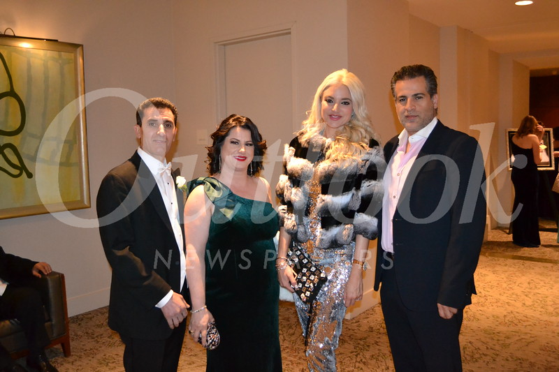 Shahin and Christine Aydin with Jeanine and John Sengul