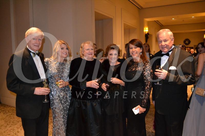 Larry, Lauren and Pat Knudsen, Janet Schrameck, Karen Knudsen and Donald Schrameck