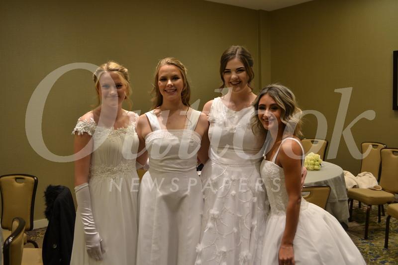 Emily Jordan, April Miller, Megan Andrews and Allegra Rendina