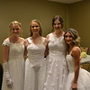 Emily Jordan, April Miller, Megan Andrews and Allegra Rendina
