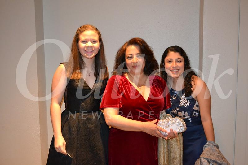 Ashleigh Kazak with Mona and Anabel Massabki