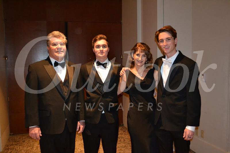 Bob, James, Cathy and Ryan Hartman