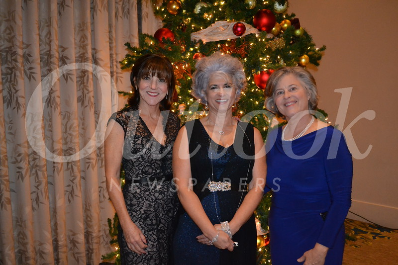 Event co-chairs Kim Ortiz and Yvonne Marchosky with Jeanie Kay