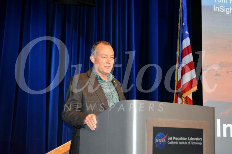 Event speaker Tom Hoffman