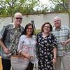 Joe and Anita O'Hara with Kelly and Lee Gregg