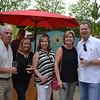 Gary and Rhonda Johnson, Allison Weir, Pam Stumbaugh and Peter Weir
