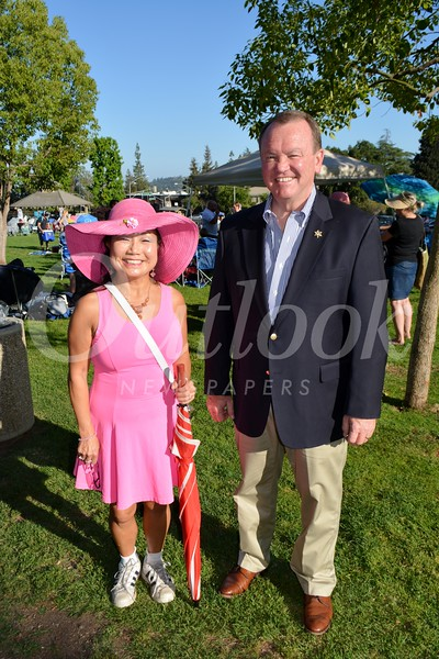 Jenny Pass and Jim McDonnell