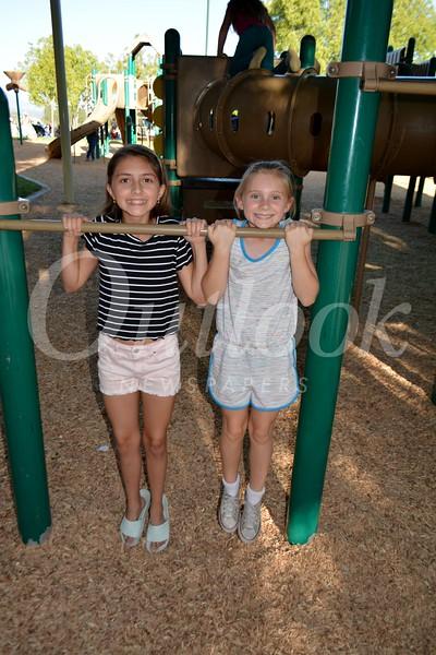 Ella Parris and Carolin Fox