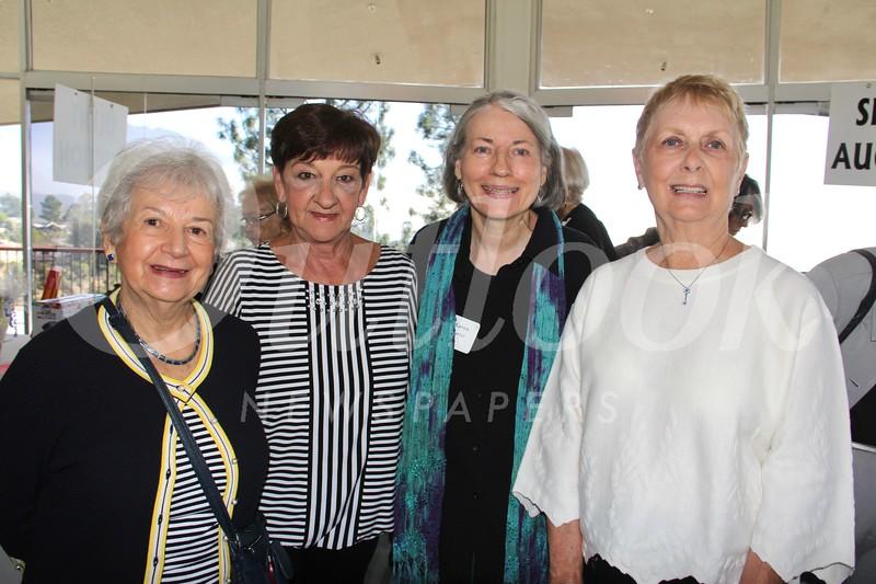 Jean Silliman, Gretel Ujfalusy, Karen Carter and Joanne Ploszaj