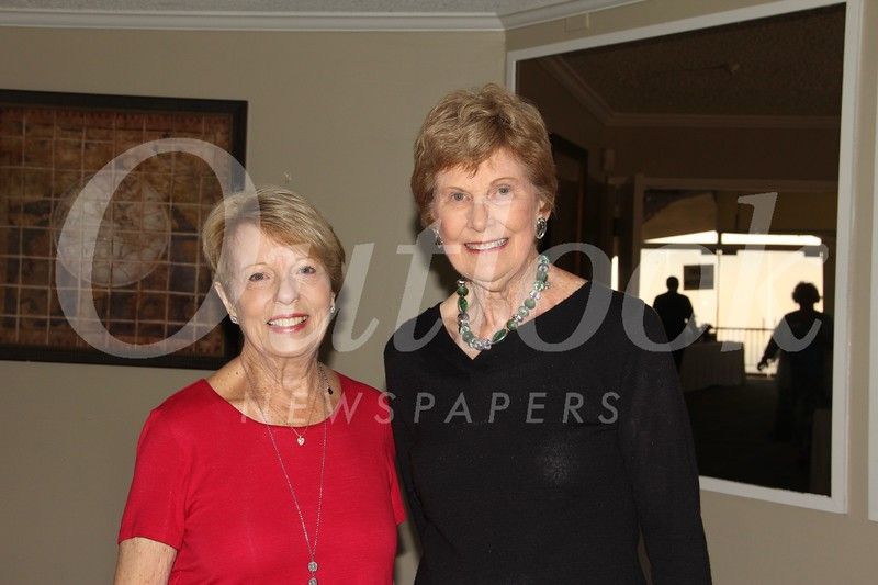 Luncheon co-chairs Marie Gilhooly and Joan Cleven