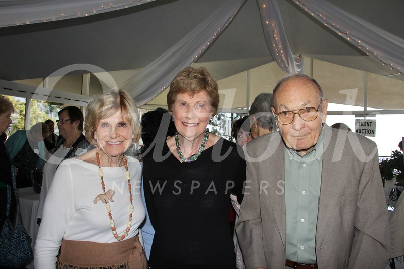 Marie Baker with Joan and Curtis Cleven