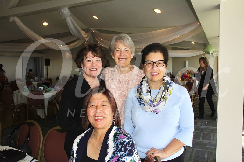 Kathryn Wong (seated), Judi Zimmer, Linda Golavko and Michele Beaty
