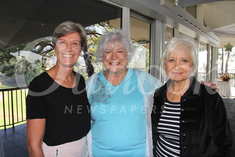 Teri Vincent, Jeanne Long and Tamara Hughes