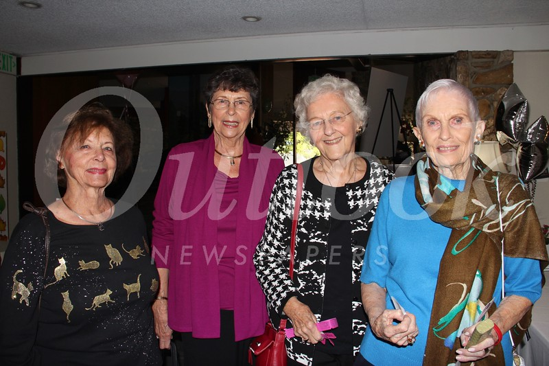 Donna Franklin, Norma Rowley, Becci Neville and Joanne Berg