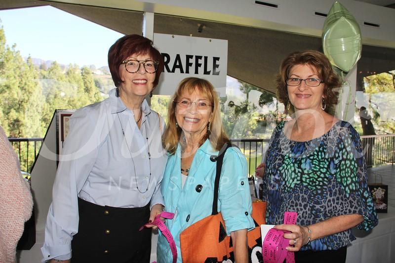 Jill Morrison, Bonnie Boyd and Diana Bromley