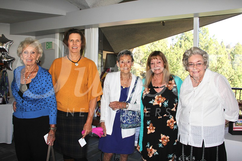 Doris Samuelson, Selena Robles, Jane Johnson, Anne Myers Dwyer and Shirley Myers