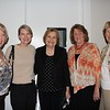 Val Burgess, Dorey Huston, Carolyn Nielsen, Barbara Davey and Karen Towner