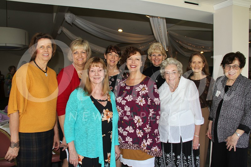 Anne Myers Dwyer (front row, from left), Nancy Myers Cox, Shirley Myers and Rahla Frohlich. Back: Selena Robles, Michele Akins, Mary Emily Myers, Lynn Ellen Myers and Michelle DeLawter.