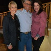 Charmain Sauro, ranch owner Johnny Higgenson and Jeannie Garr Roddy
