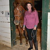 Jeannie Garr Roddy and her horse, Tiger