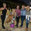 Charmain Sauro, Amy Higgins with Dreamer, Jeannie Garr Roddy, and Michelle and Caris Thiebold