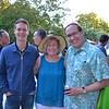 Ash Brannon, Nancy Porter and Darrell Citters